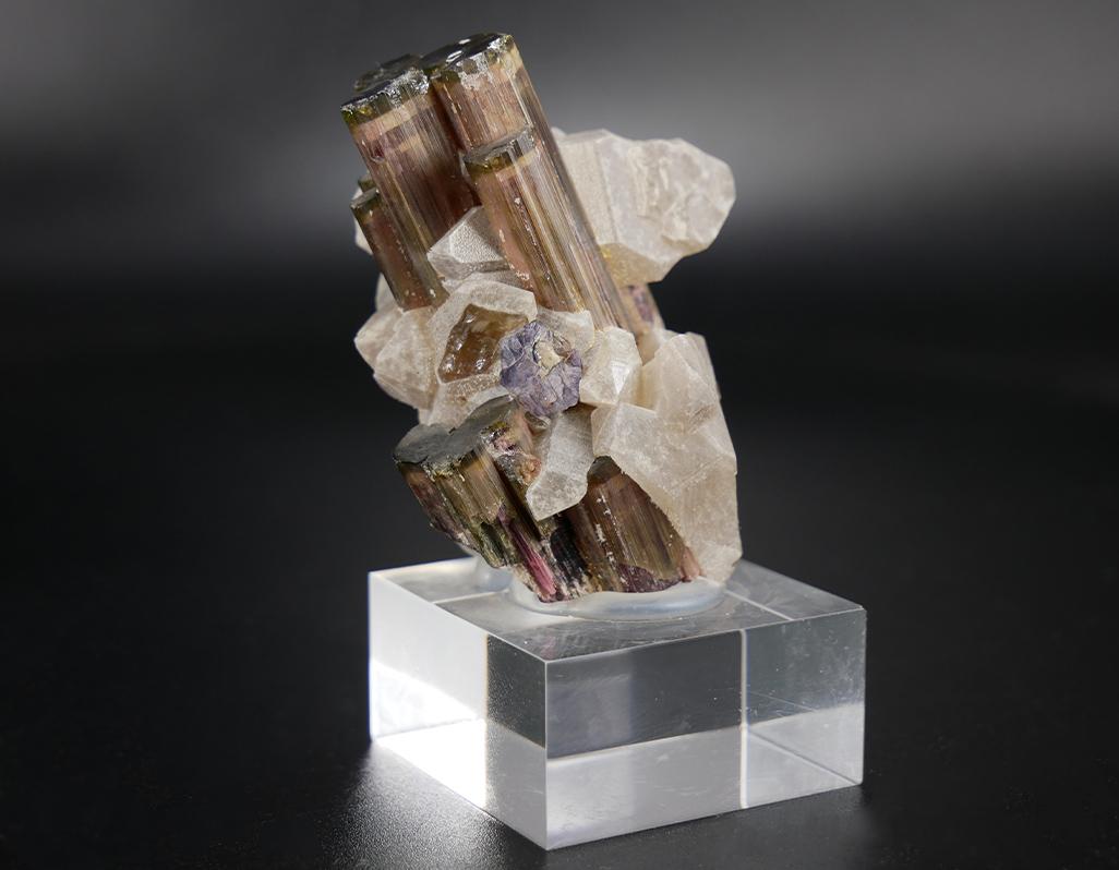 Turmalin-Naturkristall