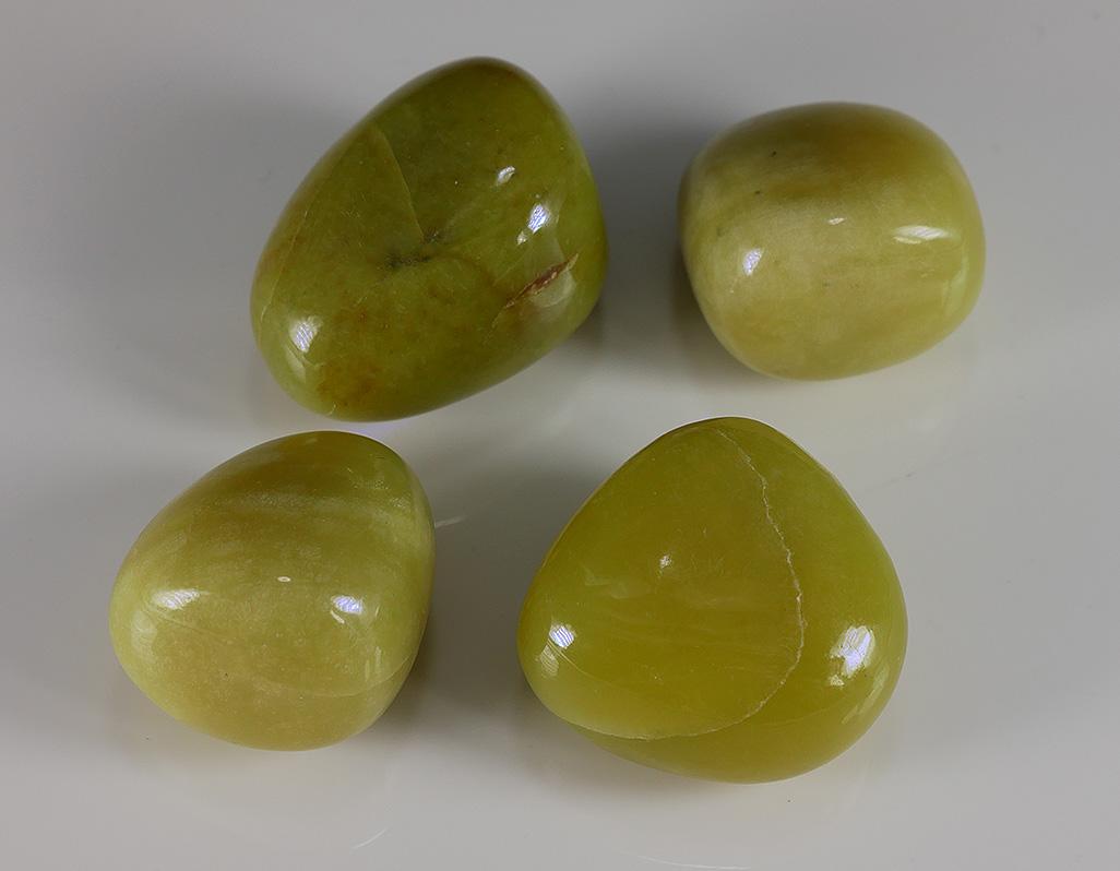 Serpentin - gelbe Jade