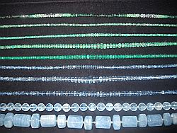 Beryll - Smaragd und Aquamarin